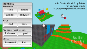 Build Blocks Wii, version 0.2